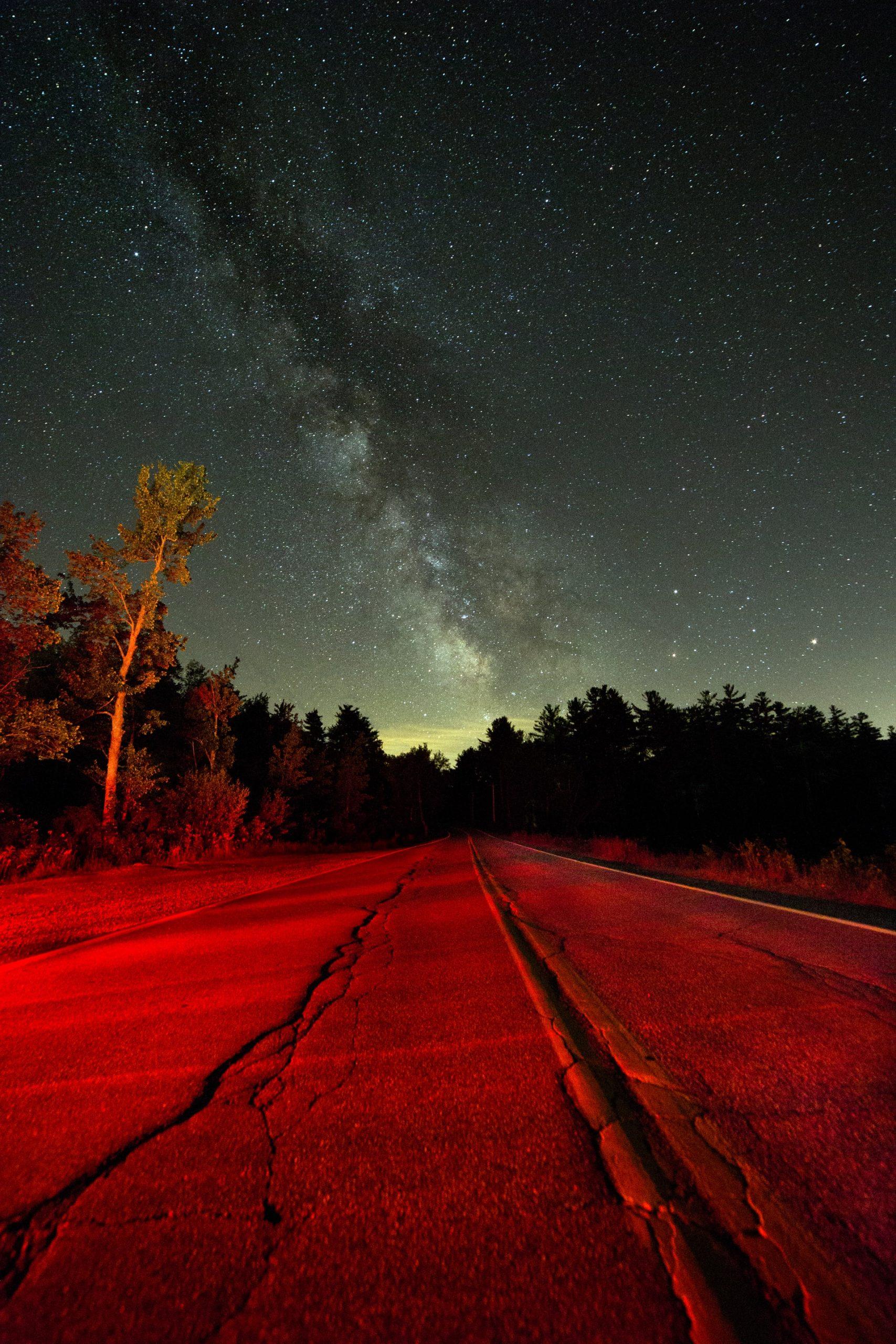 road-sky